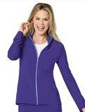 Quickcool Zip Jacket Violet Thumbnail