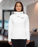 Women's Under Armour Storm Armour Fleece Hoody White Thumbnail