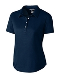 Women's Cutter & Buck Fiona DryTec Polo Liberty Navy Thumbnail