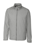 Cutter & Buck Men's Panoramic Packable Wind Jacket Black Thumbnail
