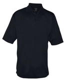 Reebok X-treme Golf Shirt Black Thumbnail
