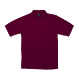 Reebok X-treme Golf Shirt Maroon Thumbnail