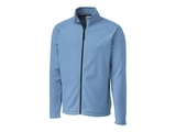 Clique by C & B Men's Summit Full Zip Microfleece Jacket Light Blue Thumbnail