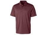 Men's Prospect Textured Stretch Polo Bordeaux Thumbnail