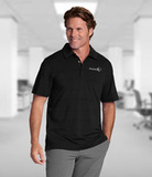 Cutter & Buck Men's DryTec Big & Tall Highland Park Polo Shirt Black Thumbnail