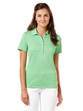 Women's Callaway Opti-vent Knit Polo Shirt Vibrant Green Thumbnail