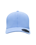 For Team 365 Cool Dry Mini Piqu Performance Cap Sport Light Blue Thumbnail