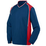 Roar Pullover Navy with Red and White Thumbnail