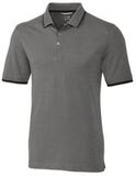 Advantage Tipped Polo Big and Tall Elemental Gray Thumbnail