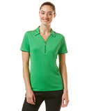 Women's Callaway Industrial Stretch Polo Fern Green Thumbnail