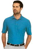 Greg Norman Play Dry Heather Solid Polo Atlantic Blue Heather Thumbnail