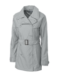 Women's Cutter & Buck WeatherTec Mason Trench Coat Oxide Thumbnail