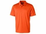 Men's Prospect Textured Stretch Polo College Orange Thumbnail