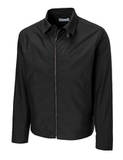 Men's Cutter & Buck Big & Tall WeatherTec Mason Full Zip Black Thumbnail