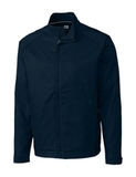 Men's Cutter & Buck WeatherTec Big & Tall Blakely Full Zip Liberty Navy Thumbnail
