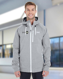 Under Armour Men's UA Coldgear Infrared Dobson Softshell Jacket True Gray Heather Thumbnail