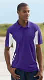 Side Blocked Performance Micropique Polo Shirt Thumbnail