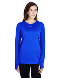 Women's Under Armour Long-Sleeve Locker T-Shirt 2.0 Royal Thumbnail