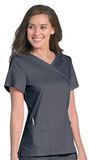 Sophie Crossover Tunic Steel Grey Thumbnail