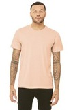 BellaCanvas Unisex Triblend Short Sleeve Tee Peach Triblend Thumbnail