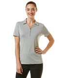 Women's Callaway Industrial Stretch Polo Griffin Gray Thumbnail