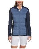 Ladies Ultrasonic Quilted Jacket Peacoat Thumbnail