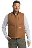 Carhartt Duck Vest Carhartt Brown Thumbnail