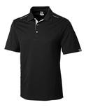 Cutter & Buck Men's DryTec Foss Hybrid Polo Shirt Black Thumbnail