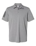 Floating 3-Stripes Sport Shirt Grey Three Heather with Black Thumbnail