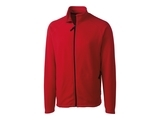 Clique by C & B Men's Summit Full Zip Microfleece Jacket Red Thumbnail