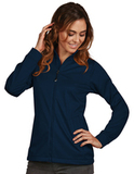 Antigua Women's Full-Zip Golf Jacket Navy Thumbnail