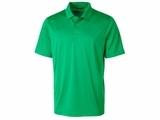 Men's Prospect Textured Stretch Polo Kelly Green Thumbnail