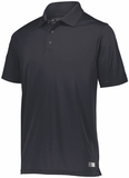 Russell Athletic Essential Polo Black Thumbnail