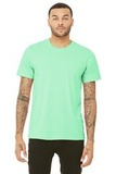 BellaCanvas Unisex Triblend Short Sleeve Tee Mint Triblend Thumbnail