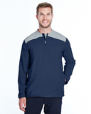 Under Armour Men's Corporate Triumph Cage Quarter-Zip Pullover Midnight Navy Thumbnail