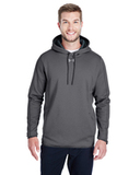 Under Armour Men's Double Threat Armour Fleece Hoodie Carbon Heather Thumbnail