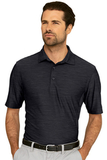 Greg Norman Play Dry Heather Solid Polo Black Heather Thumbnail