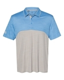 Adidas - Colorblocked Mélange Sport Shirt Lucky Blue Melange with Mid Grey Melange Thumbnail