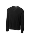 Men's CB Big & Tall Broadview V-neck Sweater Black Thumbnail