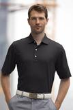 Greg Norman Play Dry ML75 Tonal Stripe Polo Black Thumbnail