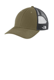 Ultimate Trucker Cap Burnt Olive Green with Asphalt Grey Thumbnail
