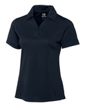 Women's Cutter & Buck DryTec Extended Sizes Genre Polo Shirt Navy Blue Thumbnail