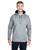 Under Armour Men's Double Threat Armour Fleece Hoodie True Heather Thumbnail