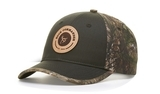 Richardson Duck Cloth Front With Camo Back Cap Thumbnail