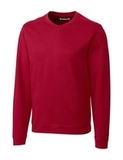 Cutter & Buck Men's Pima Cotton Decatur V-Neck Sweater Cardinal Red Thumbnail