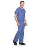 Unisex Scrub Pant Ceil Blue (BCP) Thumbnail