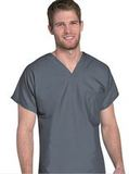 Unisex Scrub Top Steel Grey Thumbnail