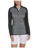 Ladies Ultrasonic Quilted Jacket Black Thumbnail