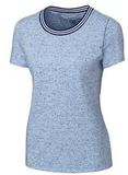 Women's Advantage Space-Dye Tee Tour Blue Thumbnail