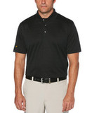 Jack Nicklaus Shadow Textured Polo Caviar Thumbnail